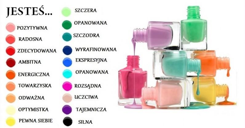 Co mówi o Tobie kolor Twojego manicure