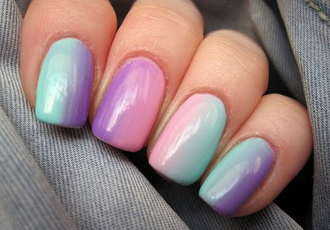 Ombre french nails