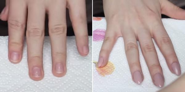 jak zrobić paznokcie migdałki