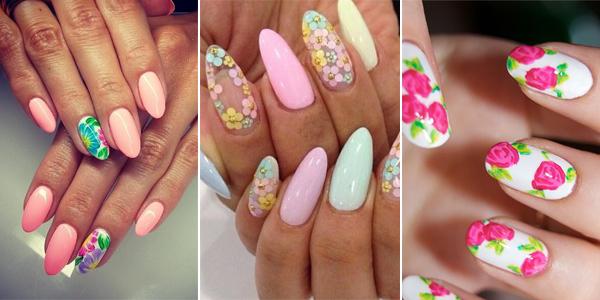 Manicure W Kwiaty 10 Najpiękniejszych Wzorków Na Paznokcie