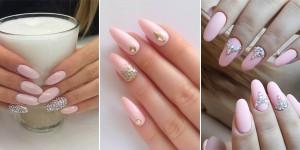 15 inspiracji na paznokcie w delikatnych pudrowych odcieniach