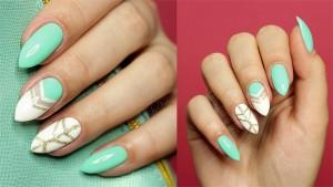 Pastelowy manicure krok po proku