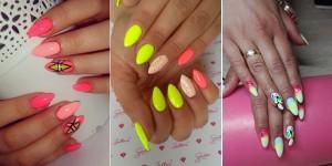 14 Śliczne inspiracje na kolorowy manicure
