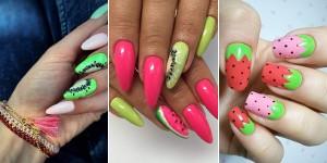 17 inspirujących stylizacji na modny owocowy manicure