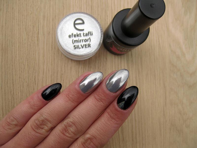 Srebrny Efekt Taflilustra Z Użyciem Lakierów Colorista Modne