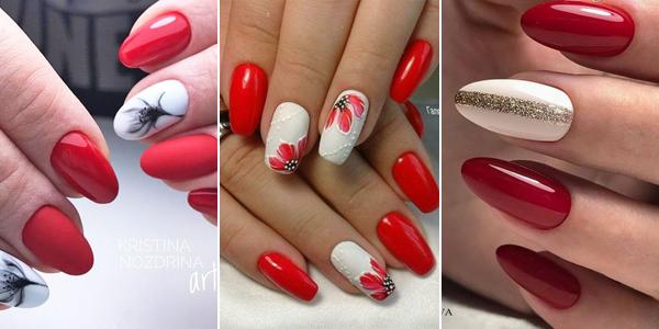 Czerwień Na Topie Czerwone Paznokcie Na Wiosnę 26 Modnych Inspiracji