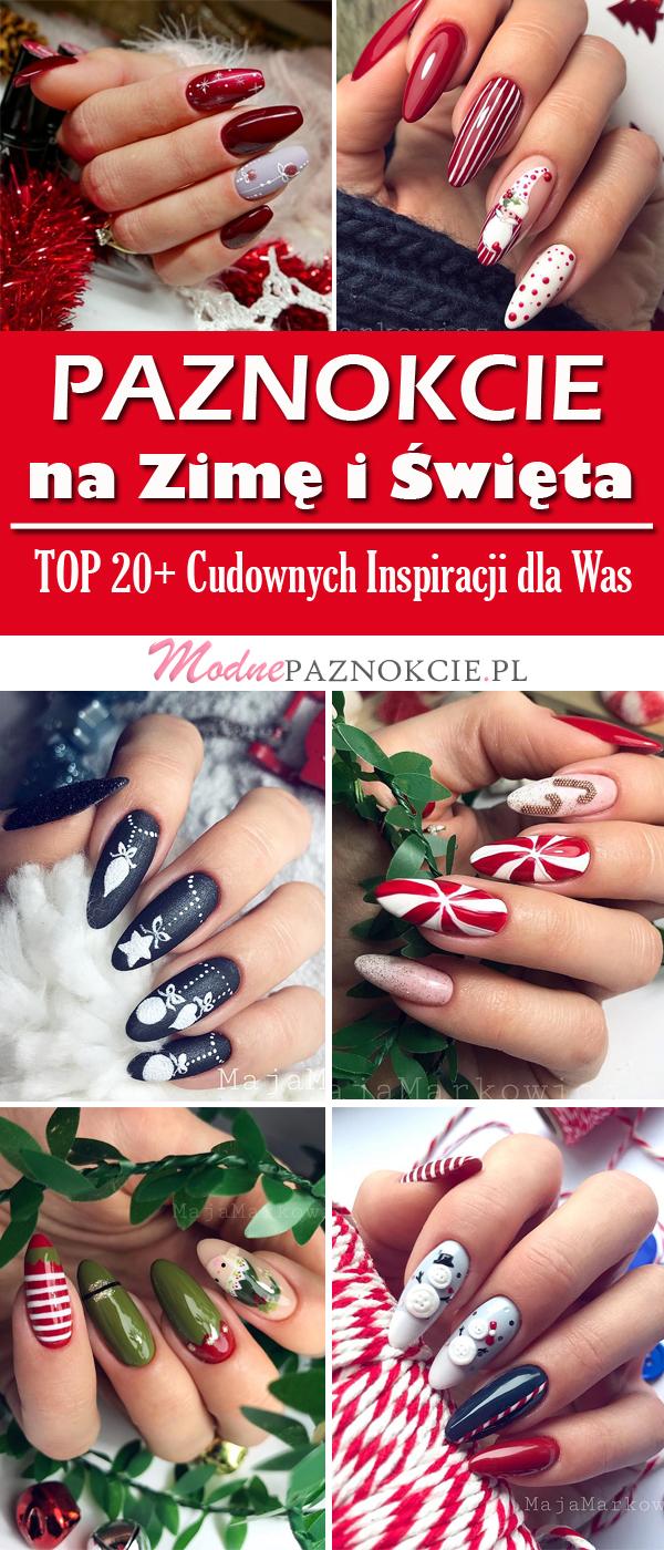 Modny Manicure Na Zime Top 20 Perfekcyjnych Propozycji Na Zimowe